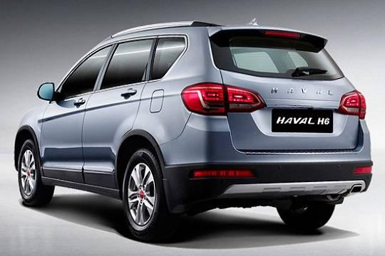 Рассекречено 2-ое поколение кроссовера Haval H6
