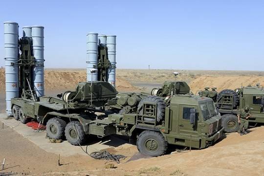 Стало известно о работе С-400 на территории Сирии