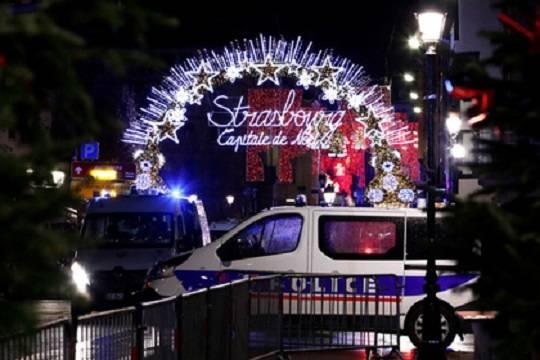 Страсбургский стрелок сбежал от полиции с ранением