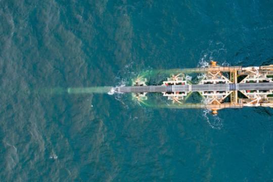 Судно-трубоукладчик Северного потока  2 возвращается в порт Висмар