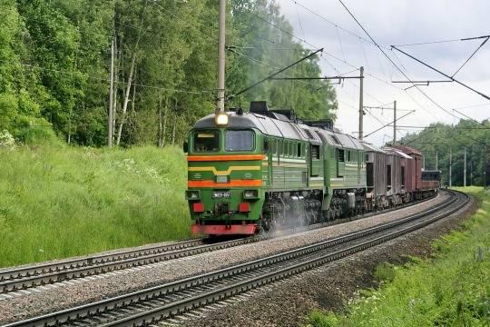 Поезд «Шелкового пути» вернулся в государство Украину