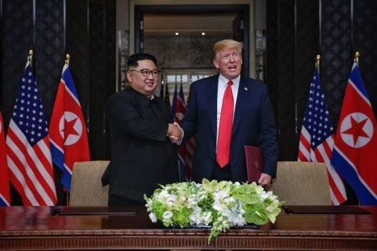 Дональд Трамп посчитал Ким Чен Ына «великим переговорщиком»