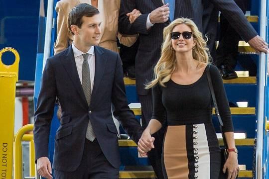 СМИ поведали  опопытках Трампа сократить  изБелого дома дочь изятя