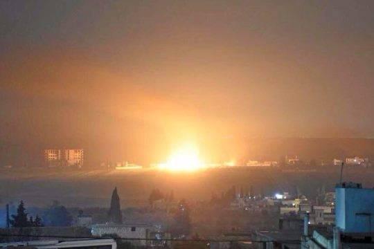 Турецкие военные уничтожили гуманитарный конвой в Сирии