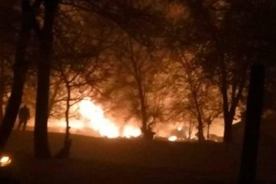 Авиакатастрофа вБишкеке унесла жизни людей, сожгла дома