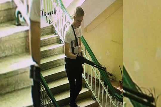 Керченских студентов мог убить вооруженный дробовиком и СВУ 18-летний студент 4 курса с ником «Рейх»