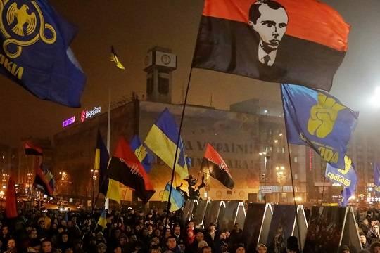 Украинские партии «Свобода», «Правый сектор» и«Национальный корпус» сообщили обобъединении