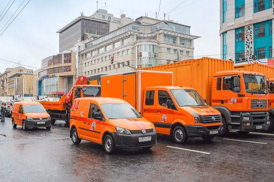 НаДень города в столице России откроется выставка городской специальной техники