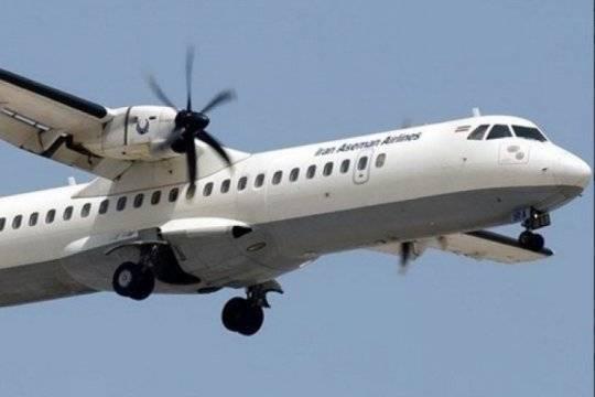 Установлено местоположение «черного ящика» иранского авиалайнера ATR-72
