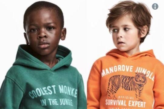 Бренд H&M уличили врасизме
