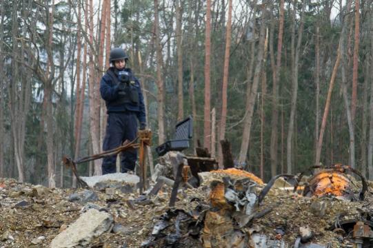В Чехии раскрыли подробности взрыва боеприпасов на складе во Врбетице