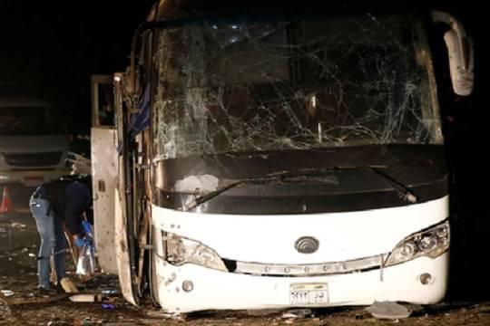 В Египте взорвался туристический автобус, есть жертвы