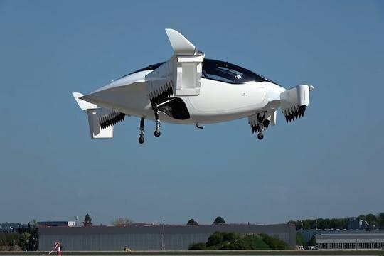Первое испытание Lilium Jet
