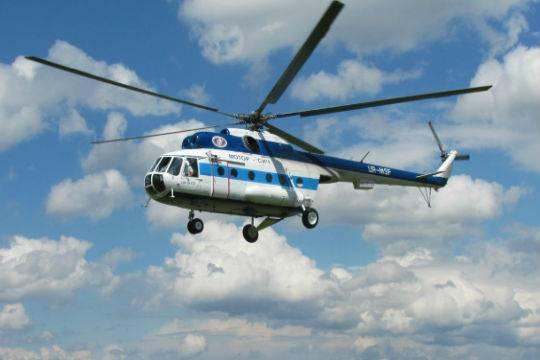 Вертолет смедицинским модулем приступил к постоянным полетам вИркутской области