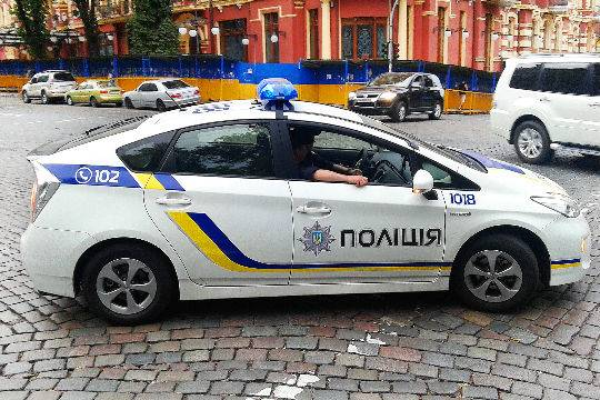 Российское посольство вКиеве закидали коктейлями Молотова