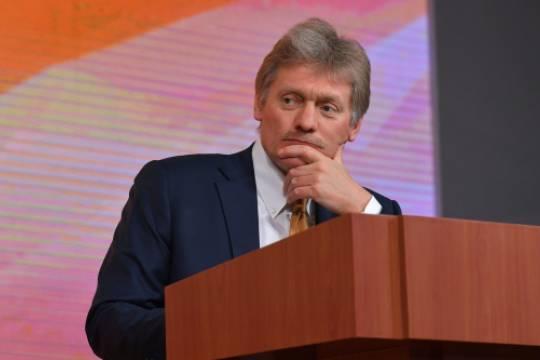 В Кремле высказались по поводу первых дней работы Дегтярёва на должности врио губернатора Хабаровского края