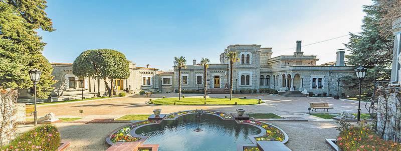 Дворец Юсуповых, «госдача №4» в Кореизе (фото: comcrimea.ru)