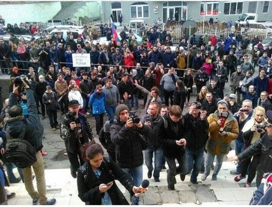 Акция во Владивостоке