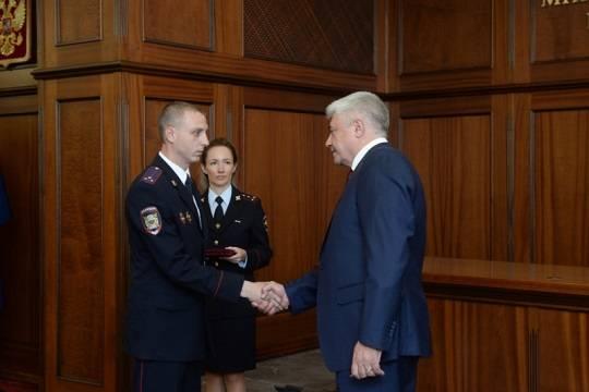 В МВД России состоялось торжественное вручение наград сотрудникам полиции за мужество и героизм