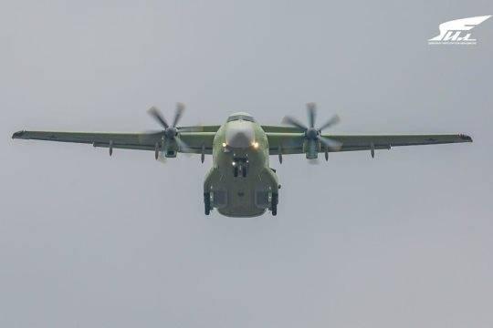 В России провели первый полет нового военно-транспортного самолета Ил-112В