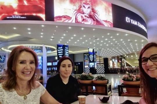 В сети появились недавние фотографии пропавшей принцессы Латифы