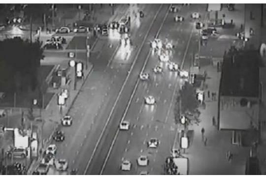 В сети появилось видео смертельного ДТП с участием автомобиля с госномером АМР