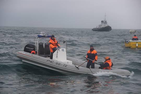 Наместе крушения Ту-154 продолжают находить фрагменты человеческих тел
