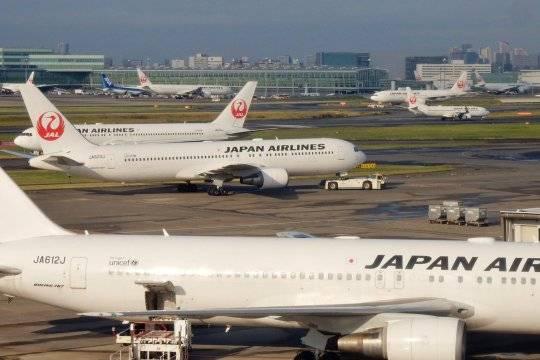 Пассажирский Boeing зажегся при взлёте вЯпонии