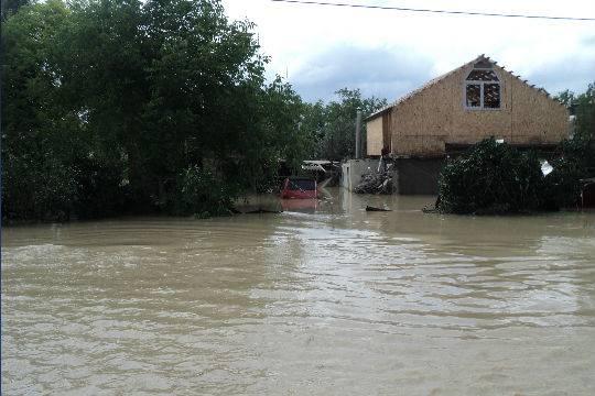 При наводнении наюге Японии без вести пропали 15 человек
