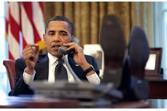 Обама покинул Капитолий вВашингтоне