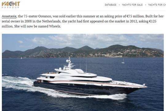 Фото: https://yachtharbour.com/news/75m-anastasia-sold-and-renamed-to-wheels-2647