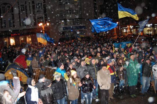 Во Франции показали фильм о событиях на Майдане