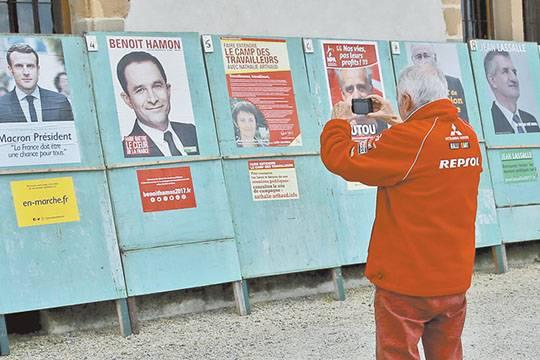 Во Франции за президентский пост боролись свои Медведев, Жириновский, Кудрин и Зюганов