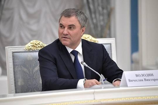 Володин обвинил Киев вразрушении экономики Крыма ипотребовал компенсацию