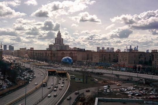 Волоколамская эстакада построена в рекордные сроки - Собянин