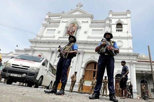 Вовремя перестрелки на Шри-Ланке погибли 15 человек
