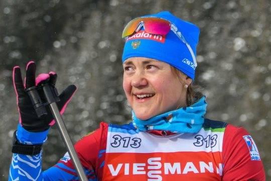 Юрлова принесла третью медаль сборной России на Чемпионате мира по биатлону