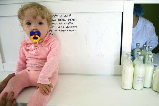 Сколько X5 Retail Group сможет заработать на младенцах, разместив в своих магазинах молочные кухни